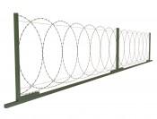 Плоский барьер безопастности ПББ 500/10 (10м)